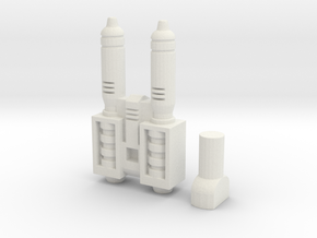 Power of the Primes Battletrap Weapon in White Natural Versatile Plastic