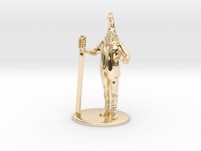 Vermin Supreme Miniature in 14K Yellow Gold: 1:60.96