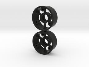 "Jantes avant ""No glue !"" - Mini z in Black Premium Strong & Flexible"