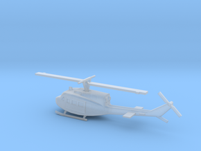 1/350 Scale UH-1J Model in Smooth Fine Detail Plastic