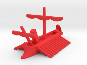 1/1200 Roman Corvus Trireme in Red Processed Versatile Plastic: Extra Small
