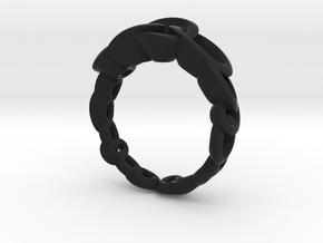 Neitiri Easy Love Ring (From $19) in Black Premium Versatile Plastic: 6.5 / 52.75