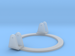 DShK Tank Mount 1:35 scale Ring in Smooth Fine Detail Plastic