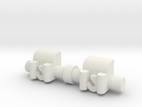 Winch 2 Pack 1-50 Scale in White Natural Versatile Plastic
