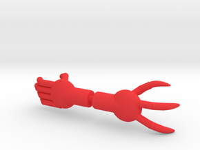 Death Squad Alien Gauntlets in Red Processed Versatile Plastic