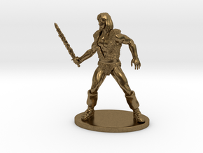 Thundarr the Barbarian Miniature in Natural Bronze: 1:55