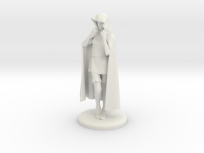 Sheila the Thief Miniature in White Strong & Flexible: 1:60.96