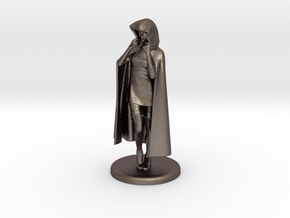Sheila the Thief Miniature in Polished Bronzed Silver Steel: 1:48 - O