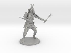 Samurai Miniature in Aluminum: 1:55