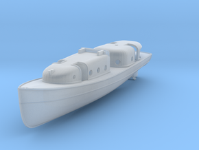 1/200 USN Admirals Boat in Smooth Fine Detail Plastic