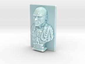 Personalised Julius Caesar Relief in Gloss Celadon Green Porcelain