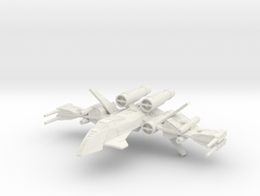 Clarion Republic Strike Fighter (1/270) in White Strong & Flexible