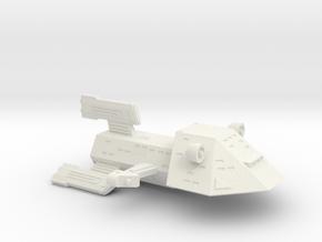 3125 Scale Kzinti War Destroyer (DW) SRZ in White Natural Versatile Plastic