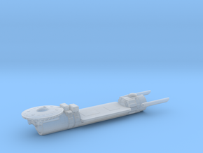 Confederation Fleet Tender in Smooth Fine Detail Plastic