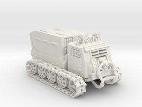 Armored Carrier - Variation A  in White Natural Versatile Plastic