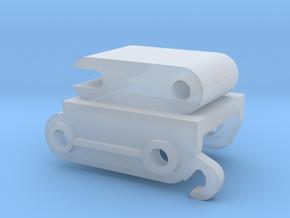 Snelkoppelling 7.5 mm in Smooth Fine Detail Plastic