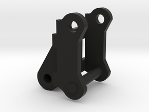V2 adapter knijpbak in Black Natural Versatile Plastic