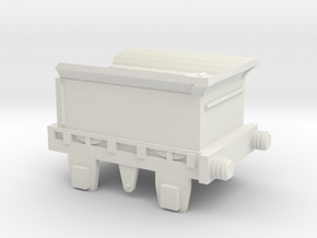 00 Scale Lion (Titfield Thunderbolt) Tender in White Natural Versatile Plastic