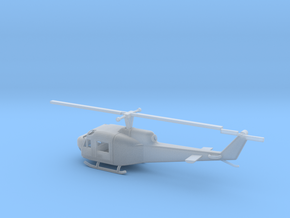 1/87 Scale UH-1B in Smooth Fine Detail Plastic