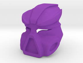 Kestora Mask / Face in Purple Processed Versatile Plastic