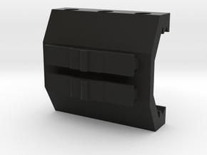 Contour Action Cam Picatinny Mount Adapter in Black Premium Versatile Plastic
