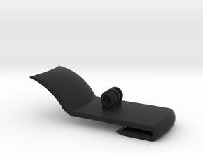 GoPro Baseball Cap Mount Universal Fitment in Black Natural Versatile Plastic