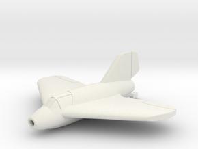(1:144) Lippisch P.01-111 in White Natural Versatile Plastic