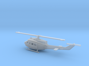 1/87 Scale UH-1J Model  in Smooth Fine Detail Plastic