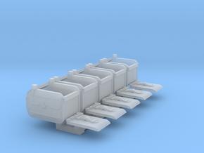 1/24 Soviet Ammo Box Set101 in Smooth Fine Detail Plastic