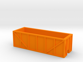 Ore Car in Orange Processed Versatile Plastic
