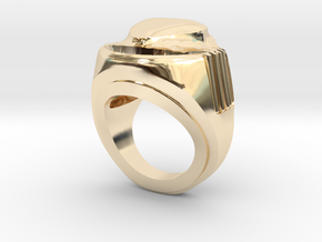 HEART extrude in 14k Gold Plated Brass: 8 / 56.75