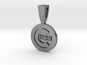 CHICAGO CUBS in Fine Detail Polished Silver