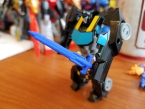 3mm Robots in Disguise Bumblebee's Sword in Blue Processed Versatile Plastic