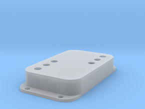 Strat PU Cover, Double Wide, WR in Smooth Fine Detail Plastic