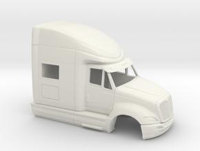 1/32 International Prostar Cab in White Strong & Flexible