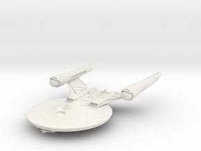 Alt Federation Shepard Class  LightCruiser in White Strong & Flexible