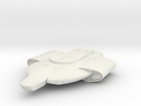 Federation Defiant class 1:1000 in White Strong & Flexible