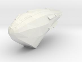 Kazon Predator Carrier 1:20000 in White Strong & Flexible