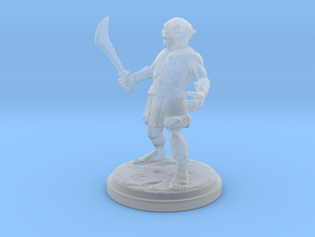 Goblin01 25mm in Smooth Fine Detail Plastic