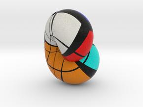 Klein Bottle Rubik in Full Color Sandstone