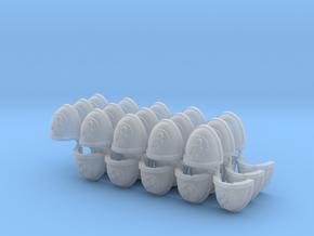 Scorpions Shoulder Pads Mk7/8 L x30 in Smooth Fine Detail Plastic