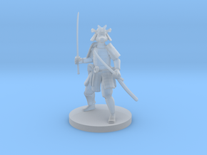 Catfolk Samurai in Smooth Fine Detail Plastic