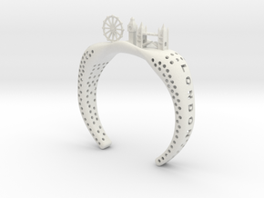 SUPER LONDON BRACELET - 50% OFF in White Natural Versatile Plastic