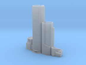 CTF Finance Centre (1:2000) in Smooth Fine Detail Plastic