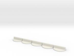 paper figure holder - 5 pack in White Natural Versatile Plastic