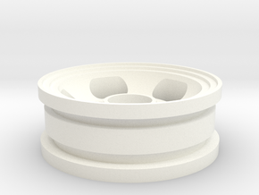 "RIM004-01 1.75"" Front Slot Mag, 5x11 Bearing Hub in White Processed Versatile Plastic"