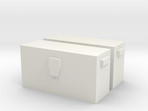 Mattel Jeep Box in White Natural Versatile Plastic