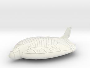 (1:285) Focke-Wulf VTOL Project in White Natural Versatile Plastic