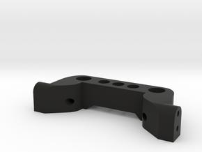TRX-4 to HPI Venture FJ - Rear Bumper Mount in Black Natural Versatile Plastic