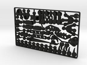 ModiRaptor DIY Dino Kit in Black Premium Versatile Plastic